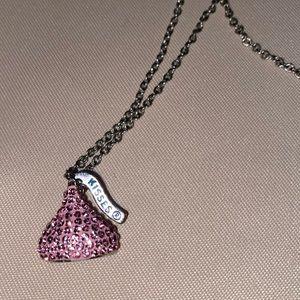 Swarovski Hersey pendant necklace.